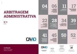 Revista Arbitragem Administrativa n.º 2