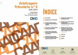 Revista Arbitragem Tributária n.º 3