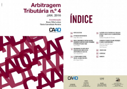 Revista Arbitragem Tributária n.º 4