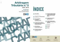 Revista Arbitragem Tributária n.º 5