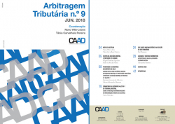 Revista Arbitragem Tributária n.º 9