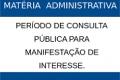 Lista de árbitros em matéria administrativa: período de consulta pública para manifestação de interesse