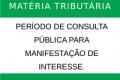 Lista de árbitros em matéria tributária: período de consulta pública para manifestação de interesse