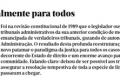 Consulte o artigo de opinião do presidente do Conselho Deontológico do CAAD